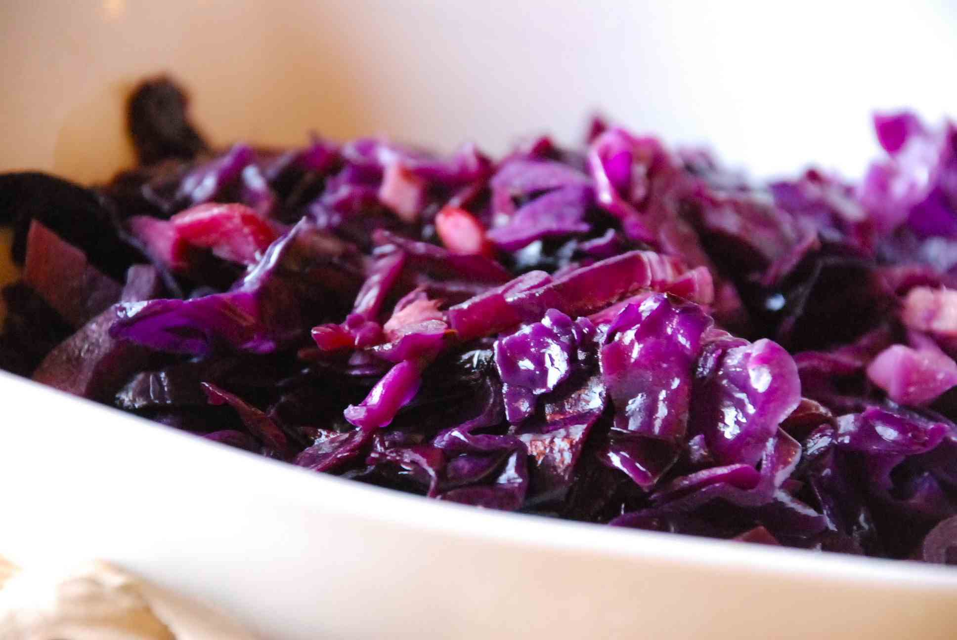 Ginger red cabbage