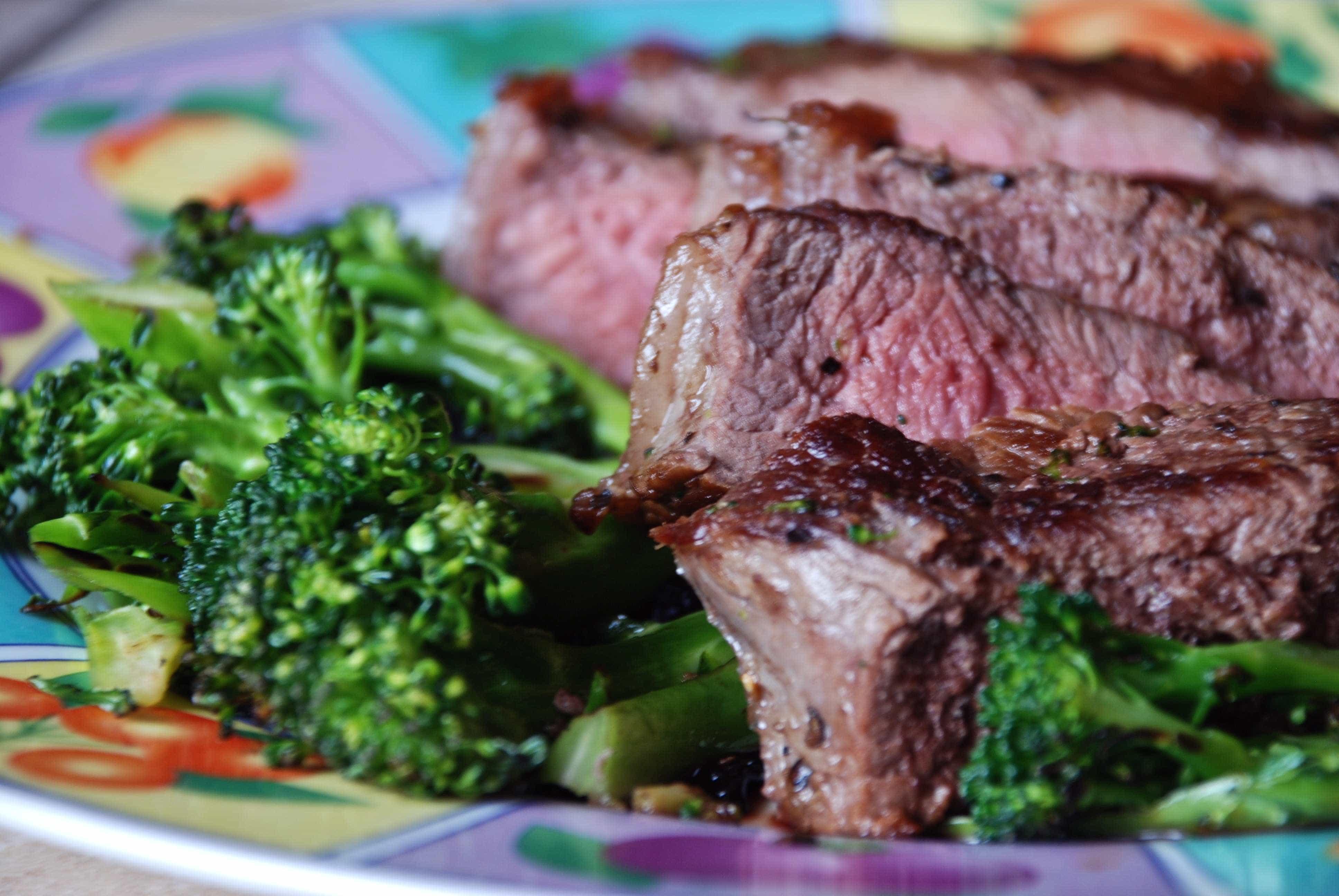 Rosemary and Garlic Steak