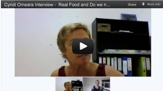Cyndi O'Meara Interview - Real Food and do we need Supplements
