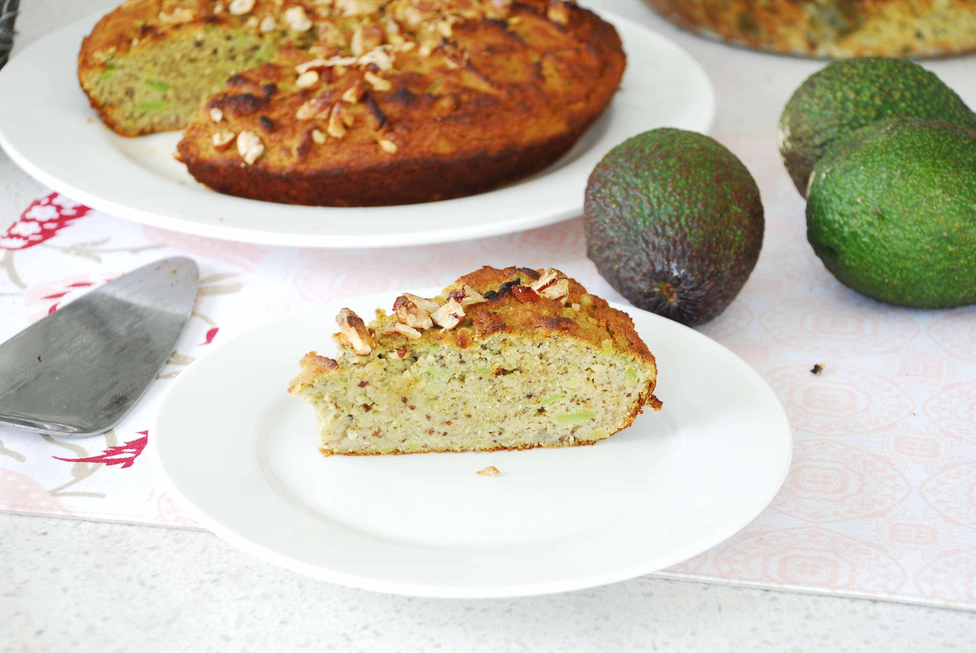 avocado and banana cake 3