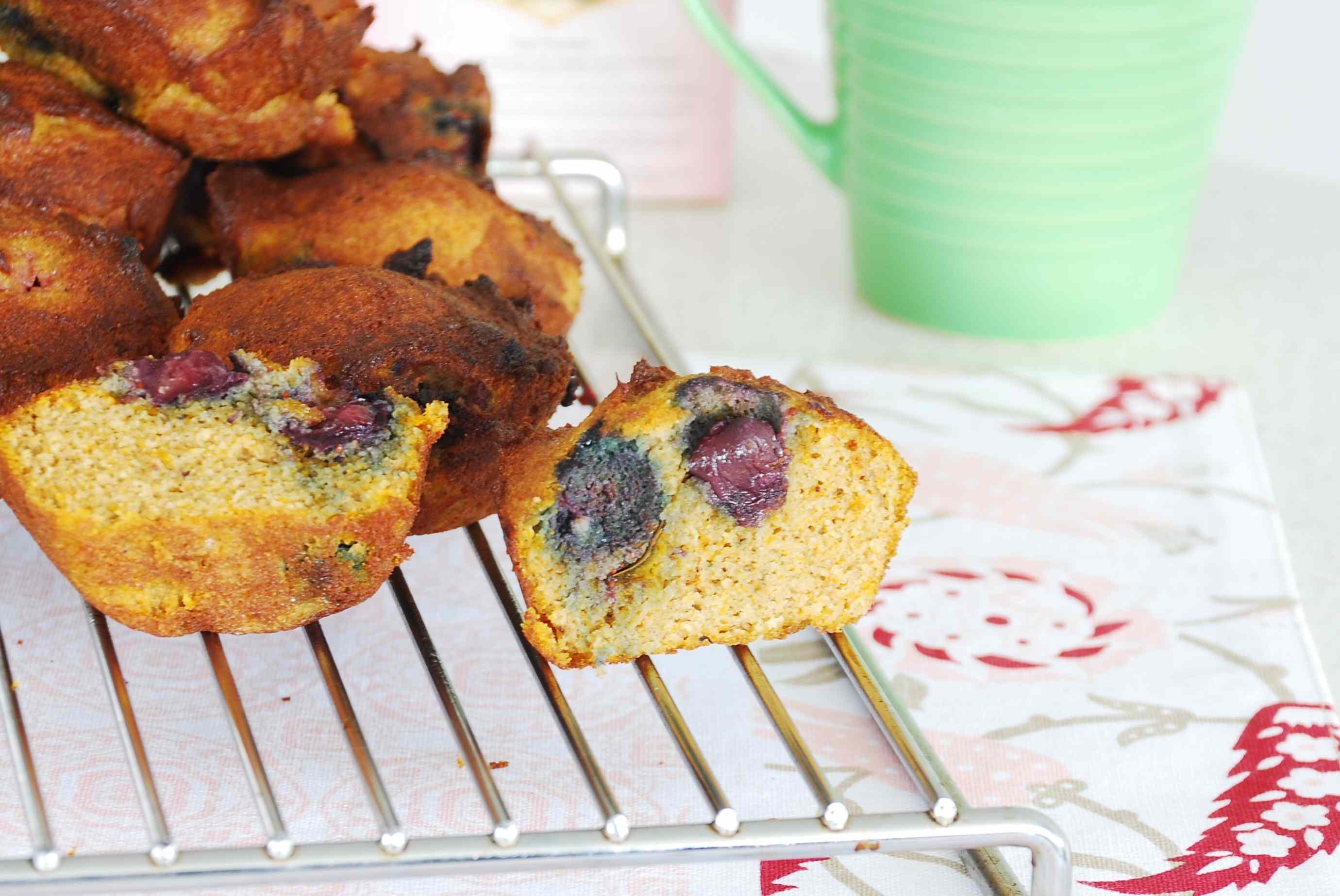 pumpkin berry muffins