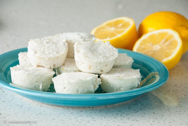 Foreverfit.tv - Lemon Coconut Fudge Clouds