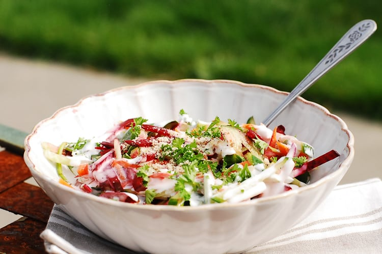 Beetroot and carrot salad-2