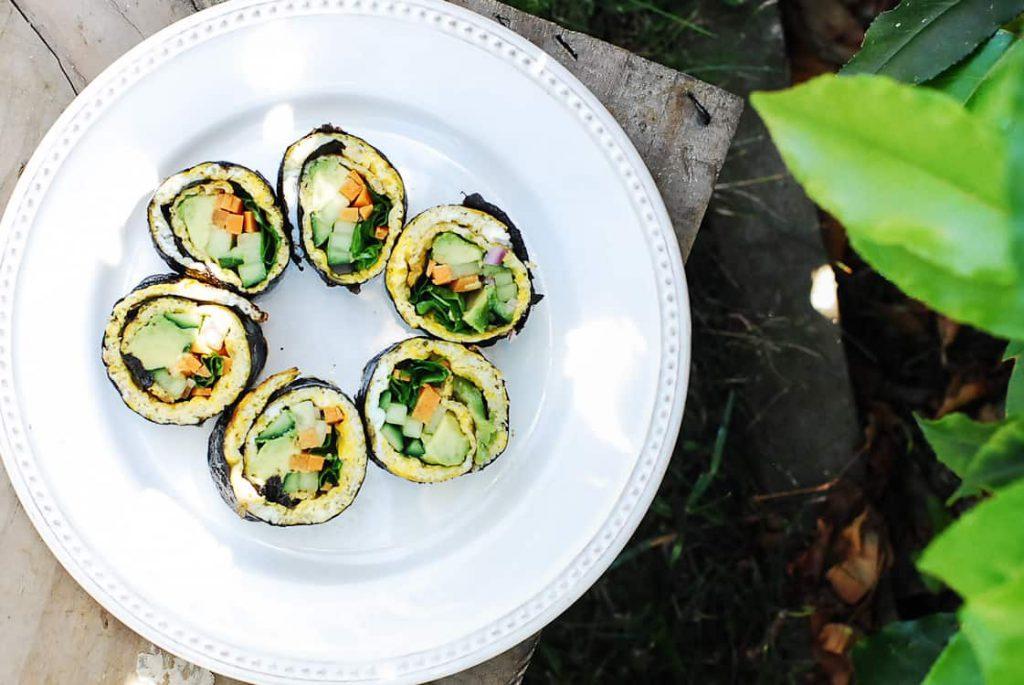 Egg Sushi Rolls-2