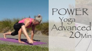 20 Minute Advanced Power Yoga Video