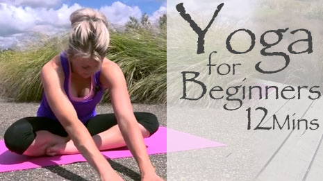 Yoga For Beginners 12 Minute Routine