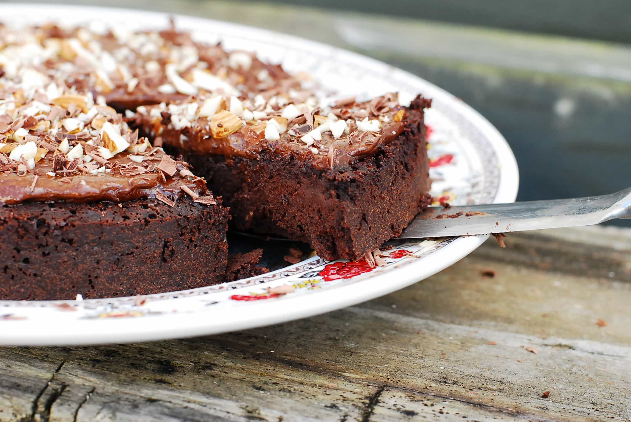 Flourless Chocolate Cake-2