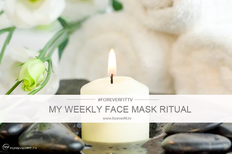 my weekly face mask ritual