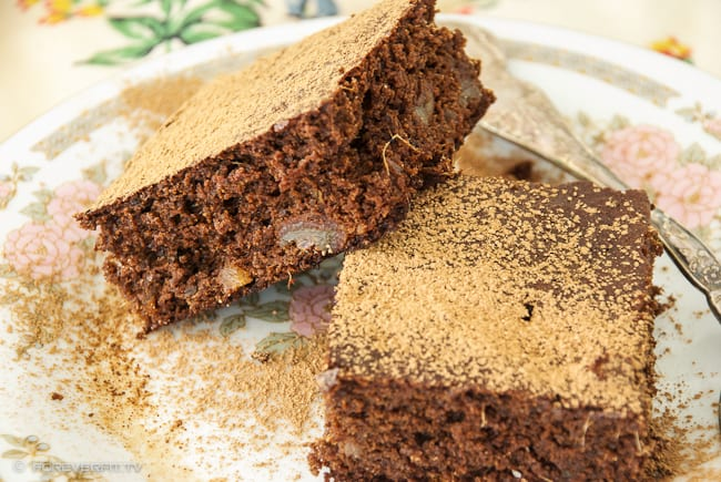 Chocolate And Ginger Brownie-3